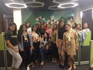 Call Center Company Agents in the Office